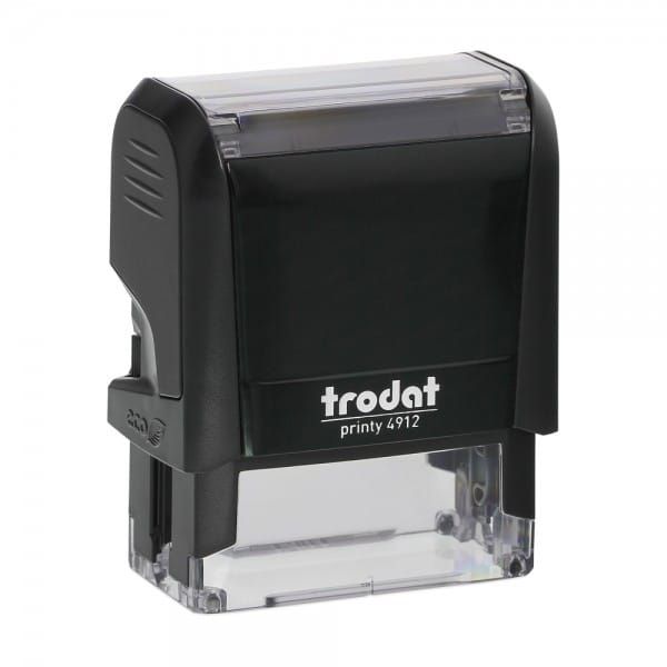 "Trodat 4912 Self-Inking Stamp (1.875"" x .75"")"